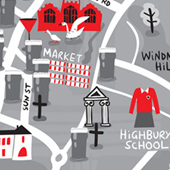 Hitchin Map Thumb